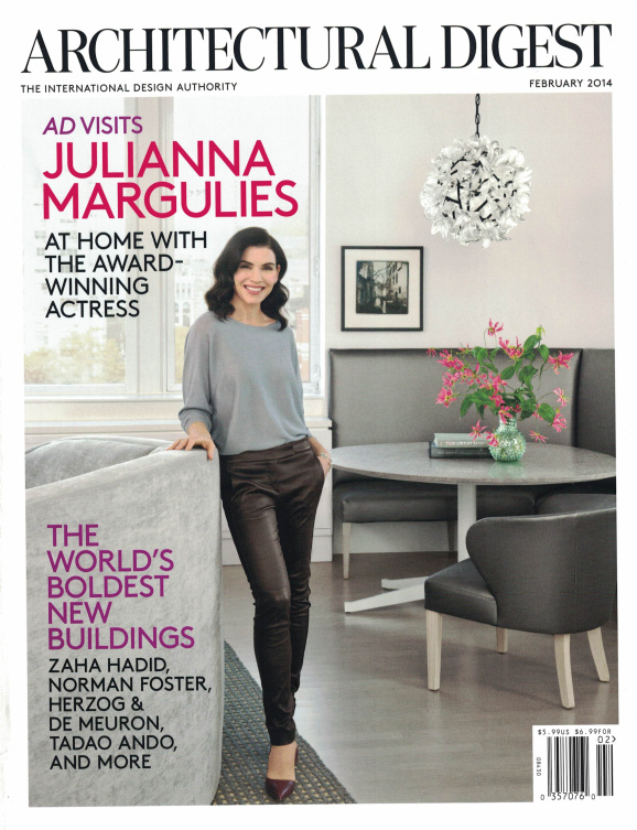 Architectural Digest (February 2014)